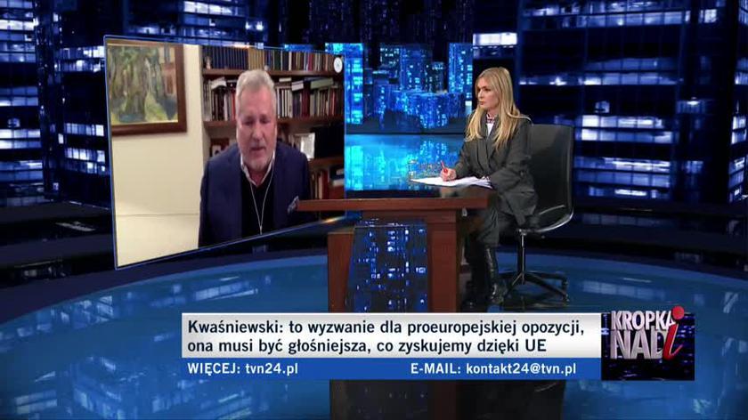 Kwaśniewski: trzeba się szczepić, to jest w gruncie rzeczy nasza jedyna zbadana szansa, żeby z tej pandemii wyjść