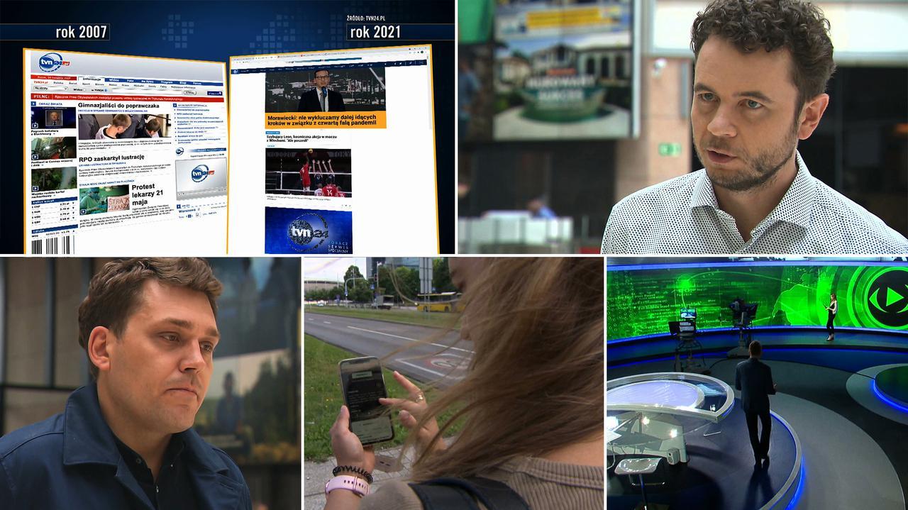 TVN24 od kulis. Internet i telewizja to przenikające się światy