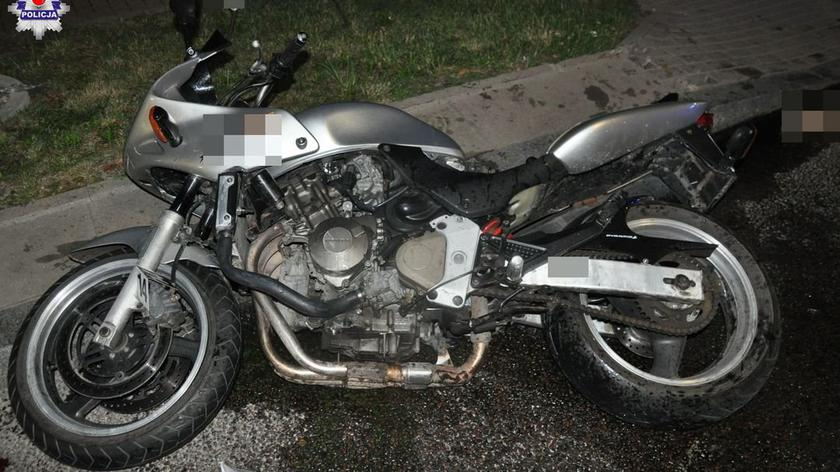 Motocyklista potrącił dziecko