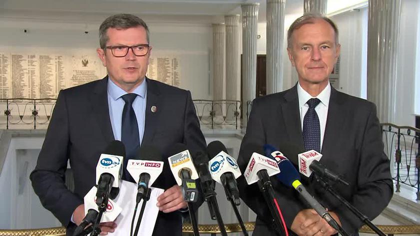 Bosacki o zachowaniu Jabłońskiego w Senacie