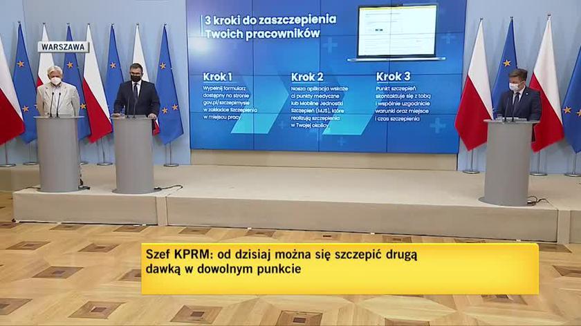 Kuczmierowski: przygotowujemy się na kolejną falę koronawirusa, staramy się zabezpieczyć na różne scenariusze