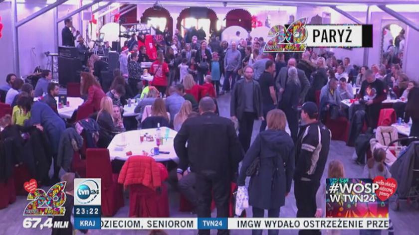 Polacy kwestowali także w Paryżu