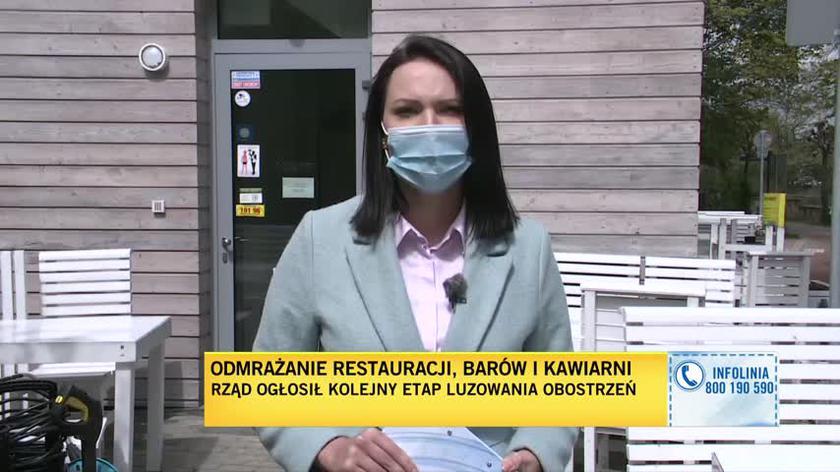 Właściciel restauracji o swojej sytuacji