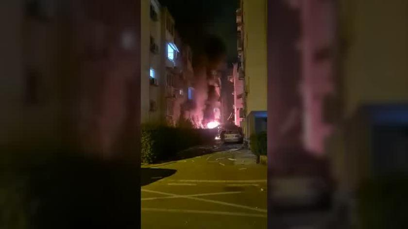 Atak rakietowy na izraelską miejscowość Petah Tikwie