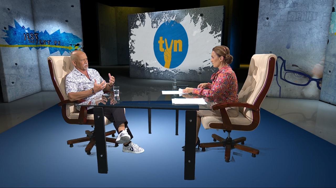Andrzej Pągowski o swoim logo TVN ze znakiem