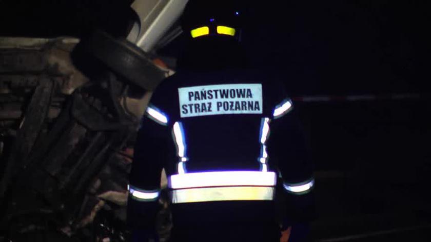 Zderzenie dwóch busów w miejscowości Zdziechów