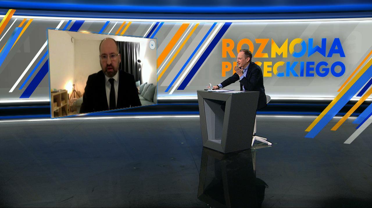 """Kto płacze Kaczyńskiemu w rękaw? """"Nie jestem tą osobą"""""""