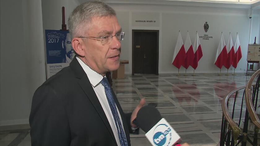 Karczewski: wszystkie zmiany, które wprowadzamy, poprawią system sądownictwa