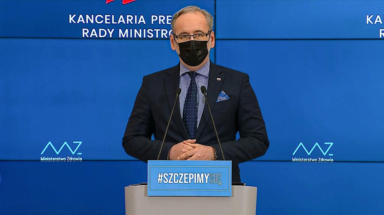 Wirus koronowy w Polsce.  Ograniczenia – Konferencja Ministra Zdrowia Adama Nidzilskiego [21 kwietnia]