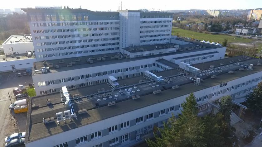 Oddział onkologiczny szpitala we Wrocławiu zamknięty