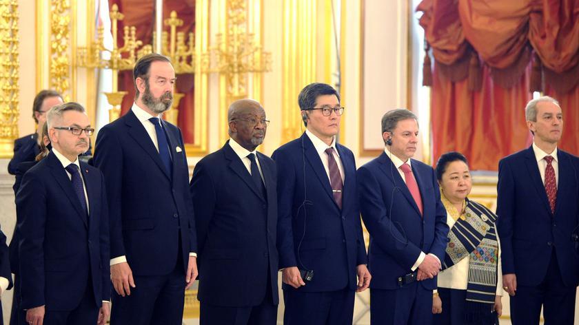 23 ambasadorów wręczyło listy uwierzytelniające prezydentowi Rosji