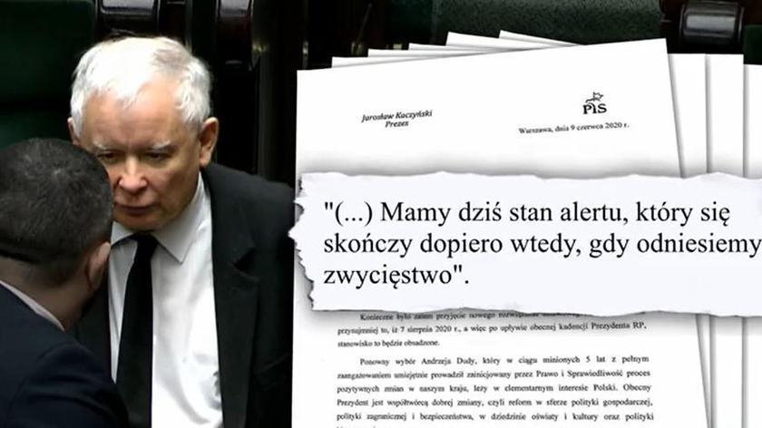Kaczyński straszy Trzaskowskim
