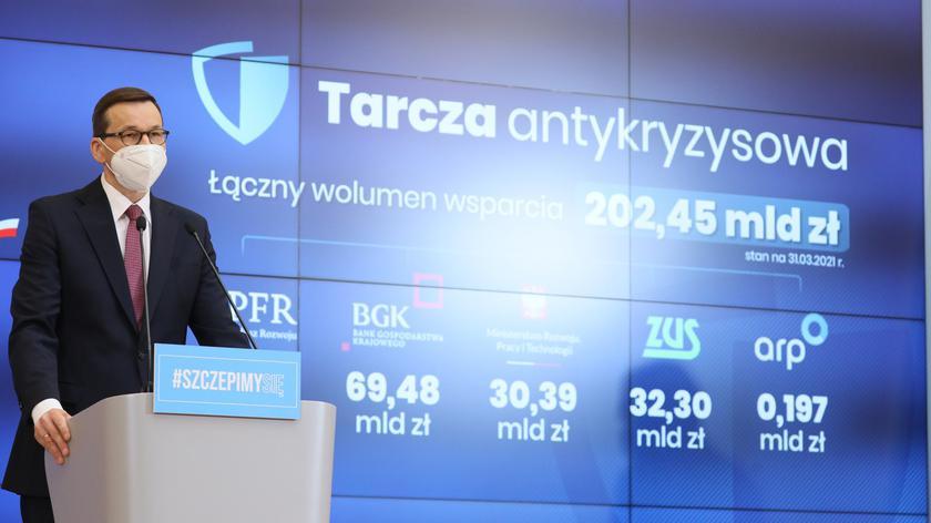 Mateusz Morawiecki o pomocy dla firm