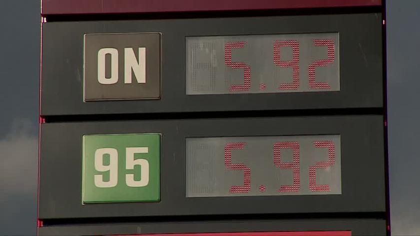 Rekordowe ceny na stacjach benzynowych
