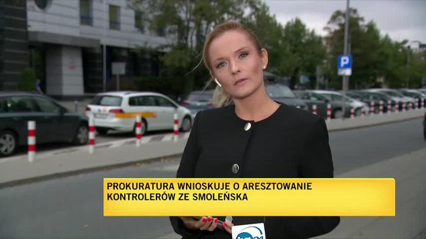 Prokuratura wnioskuje o aresztowanie kontrolerów ze Smoleńska