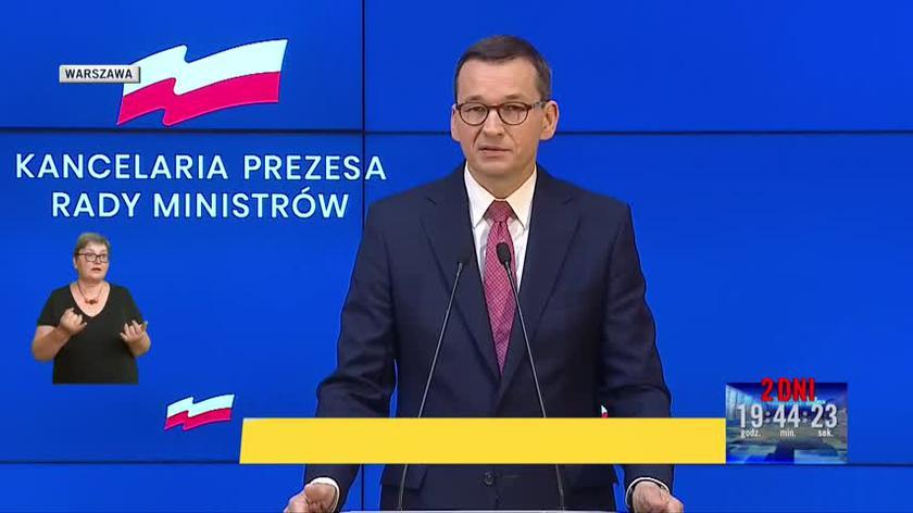 Morawiecki: Na dzisiaj to są nasze zdecydowane plany. 1 września wracamy do szkół, 1 października na uczelnie