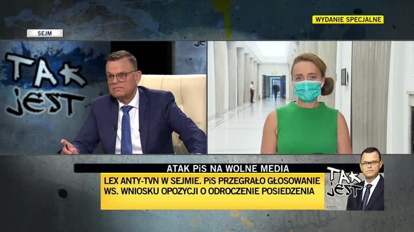 Reporterka TVN24: Trwają dyskusje nad postulatem ruchu Kukiz'15. Chodzi o fotel wicemarszałka Sejmu