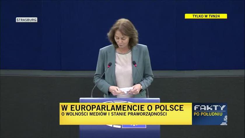 Katarina Barley: mamy do czynienia z próbą wyeliminowania kanału, który może krytycznie komentować sprawy polityczne