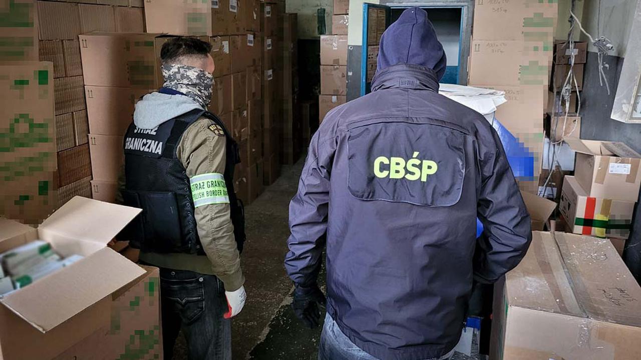 Polskie i czeskie służby rozbiły międzynarodowy gang narkotykowy. Aresztowano 11 osób