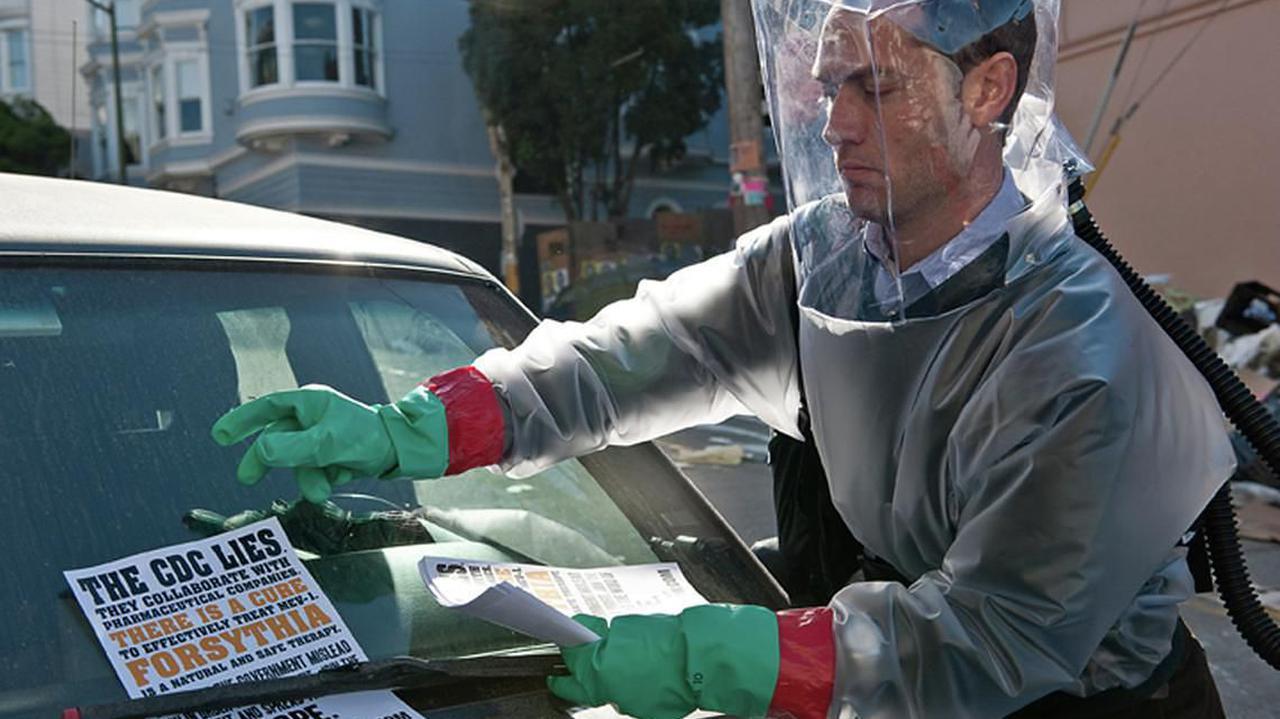 Doradca medyczny filmu o epidemii publicznie przyznaje: jestem zakażony