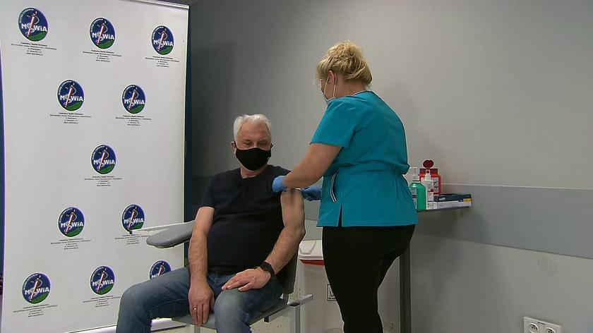 Waldemar Kraska został zaszczepiony przeciw COVID-19