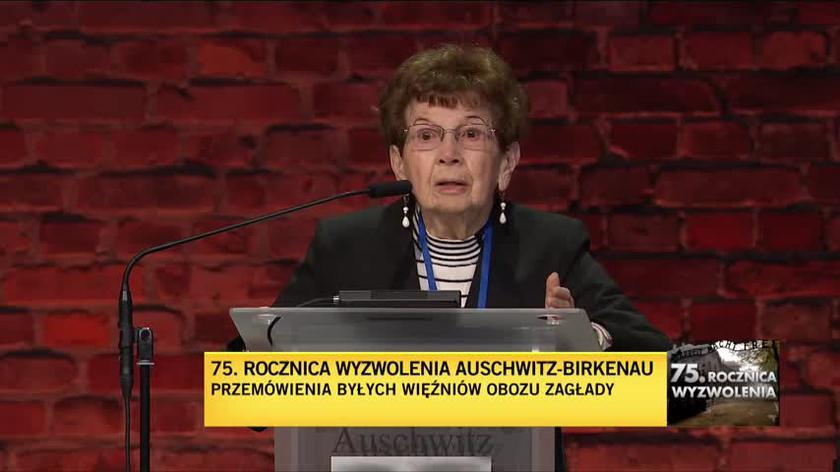 """Batszewa Dagan o """"najgorszej rzeczy, którą przeżyła"""" w obozie"""