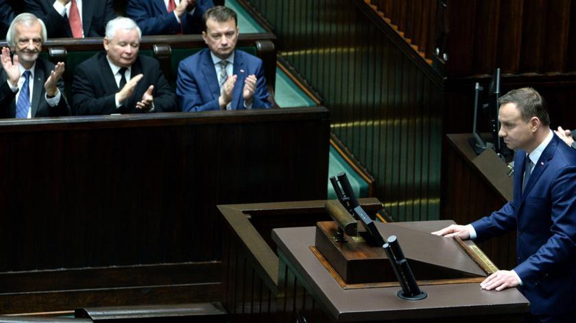 Duda chce wprowadzić dyżury prezydenckie dla posłów