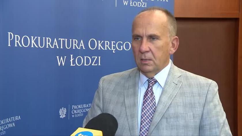Łódź. Prokurator Krzysztof Kopania o uchyleniu aresztu dla Katarzyny P., współtwórczyni Amber Gold (wideo z września 2021 roku)