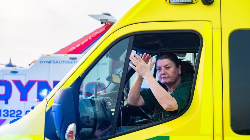 Podziękowania dla publicznej służby zdrowia NHS w 72. rocznicę jej powołania