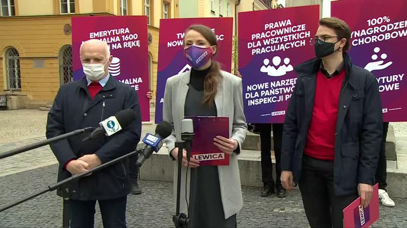 Dziemianowicz-Bąk: Polsce potrzeba silnego, opiekuńczego państwa, które szanuje pracę i chroni pracowników