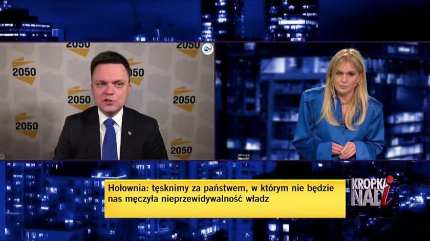 Hołownia: myśmy chyba wszyscy przegrali, Polska przegrała