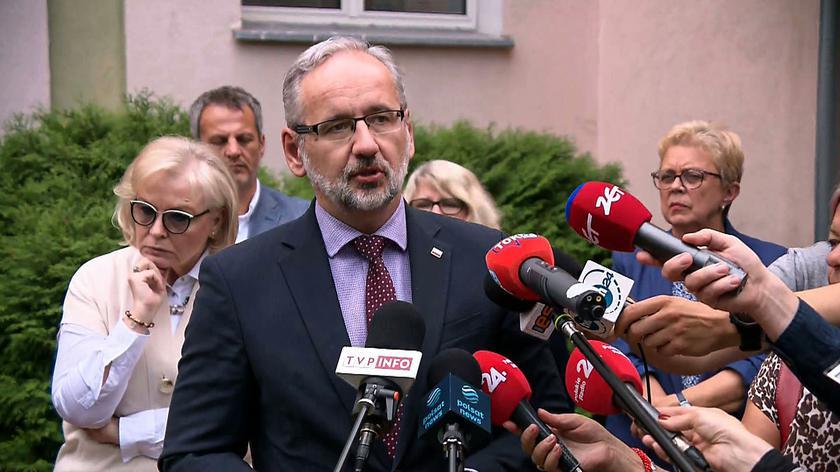 Niedzielski: marszałek Sejmu zapowiedziała, że zawiadomi prokuraturę ws. słów Brauna