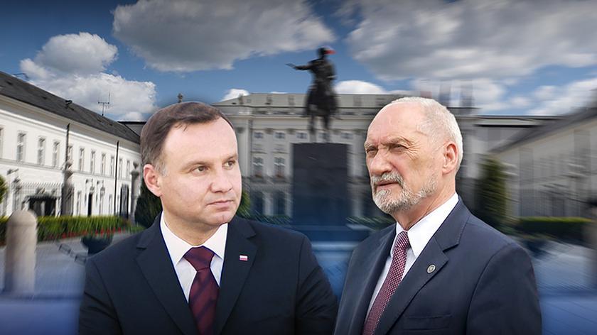 """Zdaniem szefa MON, blokada awansów generalskich była błędem. Materiał """"Faktów"""" TVN z 8 sierpnia 2017 roku"""