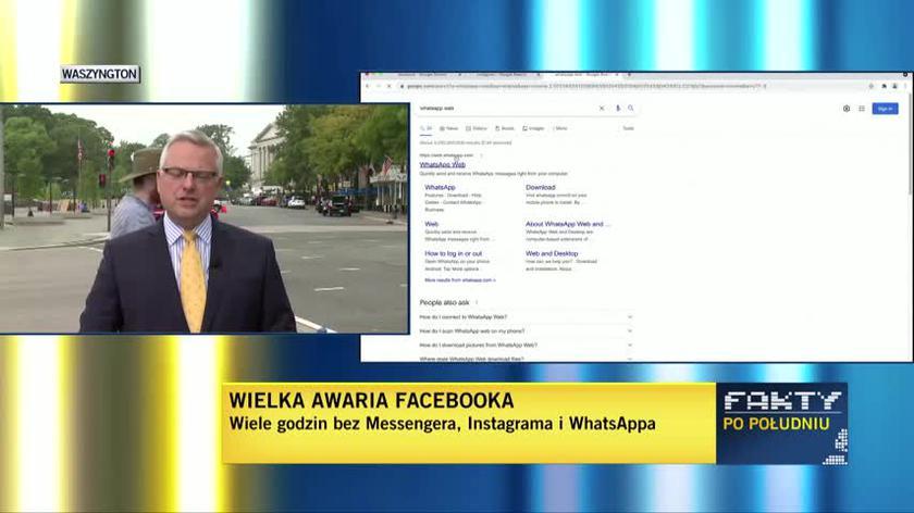 Zeznania byłej pracownicy Facebooka przed amerykańskim Senatem. Relacja Marcina Wrony z USA
