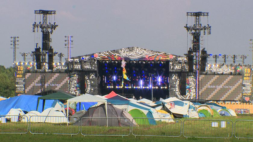 Sobota na Pol'and'Rock Festival