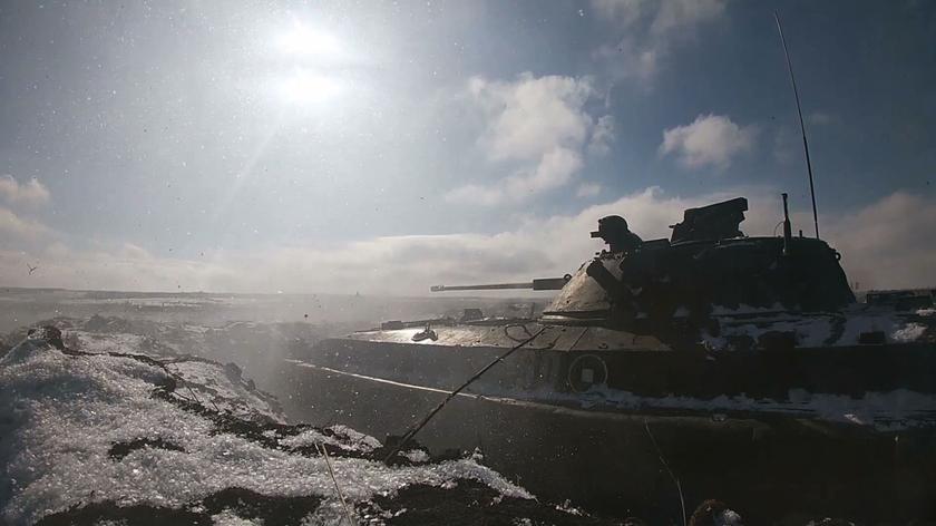 Rosyjskie wojsko ćwiczy w obwodzie woroneskim