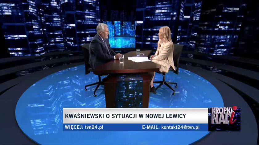 Kwaśniewski: Tusk jest teraz dojrzalszym politykiem