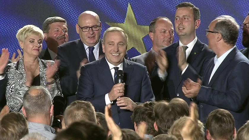 Całe przemówienie Grzegorza Schetyny po wynikach wyborów