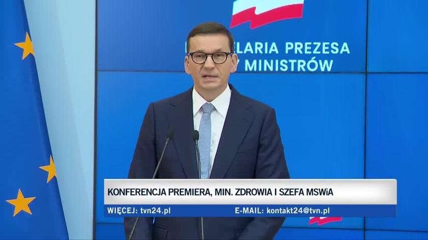 Premier: wystąpiłem do prezydenta z wnioskiem o wprowadzenie stanu wyjątkowego w części woj. podlaskiego i lubelskiego