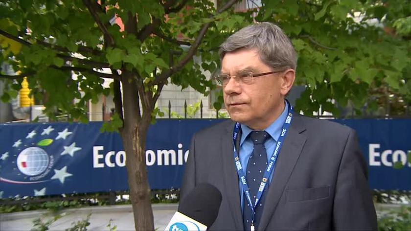 Jerzy Marek Nowakowski o obecności Jurija Woskriesienskiego na forum w Karpaczu