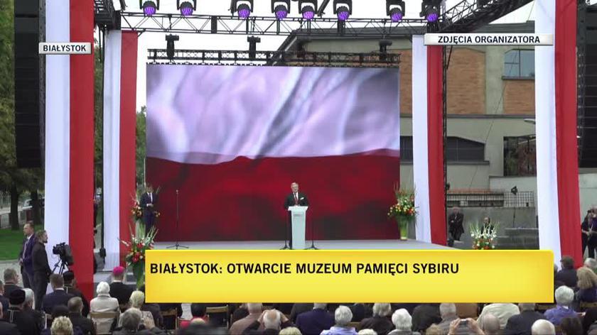 Były Prezydent RP Bronisław Komorowski mówił, że chce, aby pamięć o Kresach Wschodni dotyczyła również pamięci o współżyciu narodów i religii