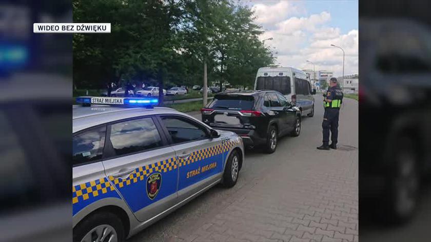 Strażnicy odzyskali kradzione auto