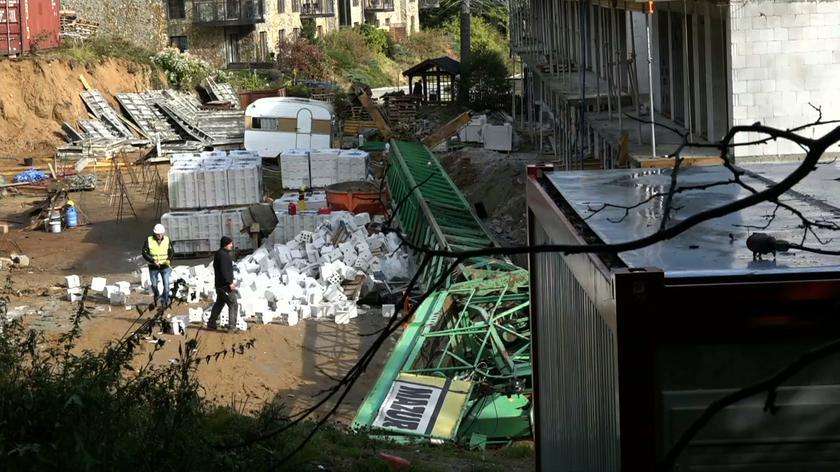 Collapsed tower crane kills 51-year-old operator in Szklarska Poręba