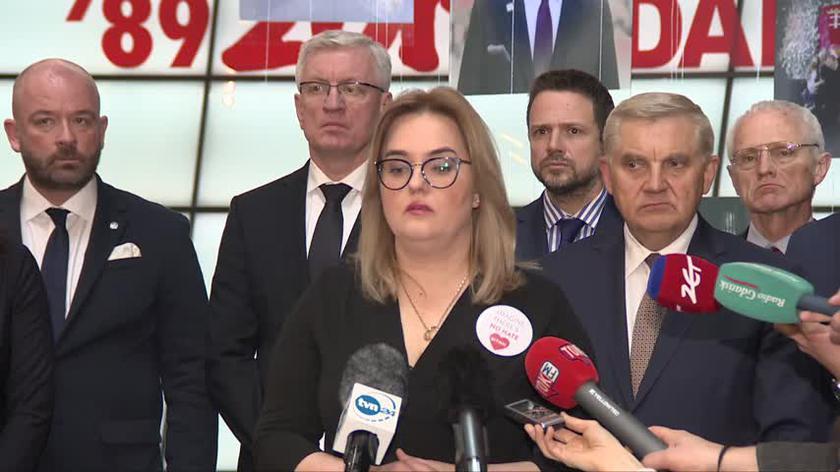 Magdalena Adamowicz zapowiedziała powstanie naukowo-badawczego Instytutu Pawła Adamowicza