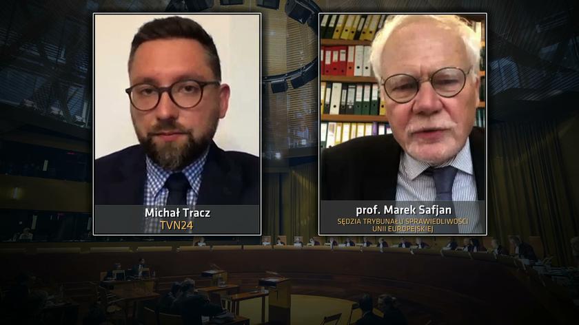 Profesor Marek Safjan o sprawie sędzi Beaty Morawiec