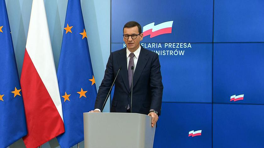 Morawiecki: nie spodziewamy się spadku napięcia na granicy z Białorusią