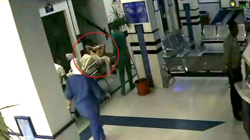 Monitoring ze szpitala w Hurghadzie