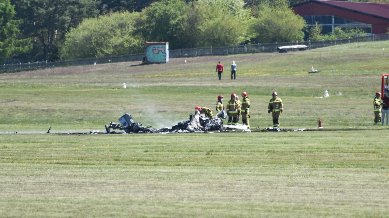 Biznesmen zginął w wypadku małego samolotu