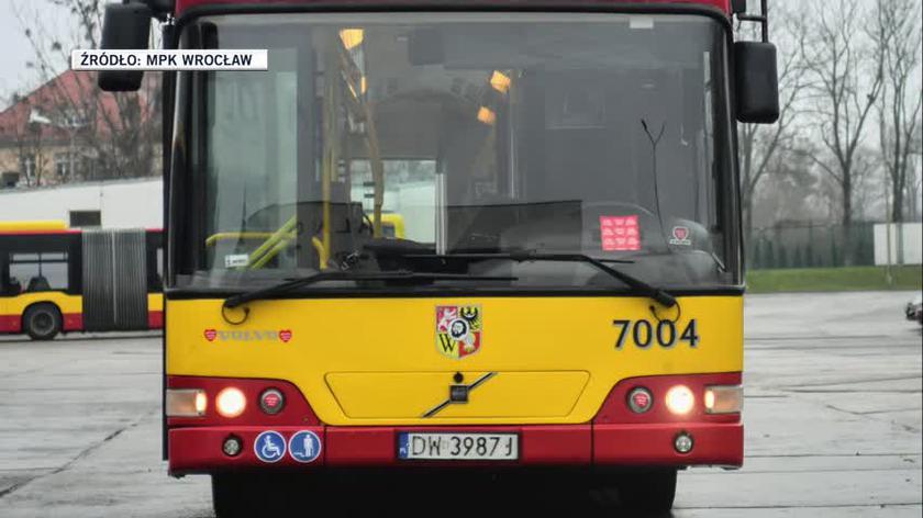 Autobus wrocławskiego MPK wystawiony na aukcję na rzecz WOŚP