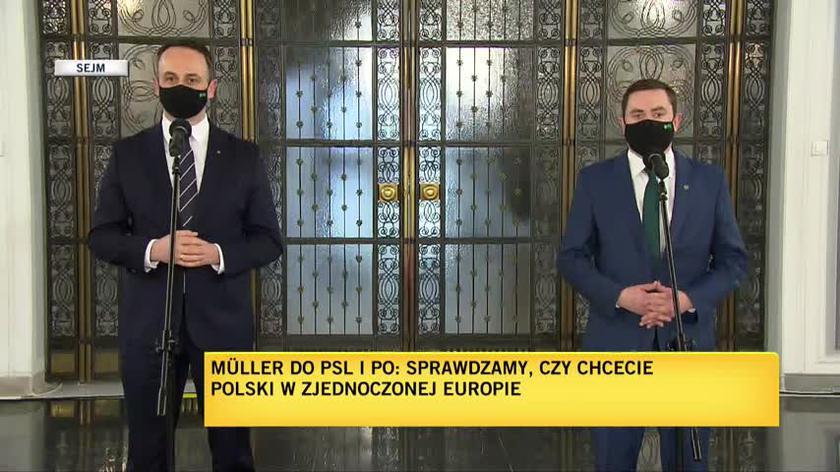 Rzecznik PSL: to nie Koalicja Polska i nie inne formacje opozycyjne są przeciwko pieniądzom dla Polek i Polaków
